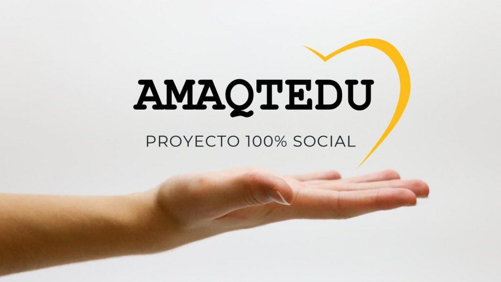 La iniciativa AMAQTEDU surgió gracias al concurso organizado por la Escuela de Emprendimiento de la Universidad de Alcalá, 'Tu idea en un minuto.